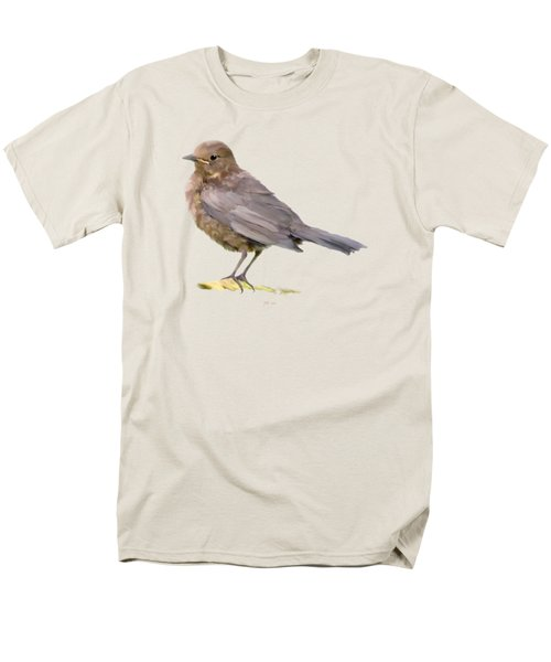Young Blackbird  Men's T-Shirt  (Regular Fit) by Bamalam  Photography