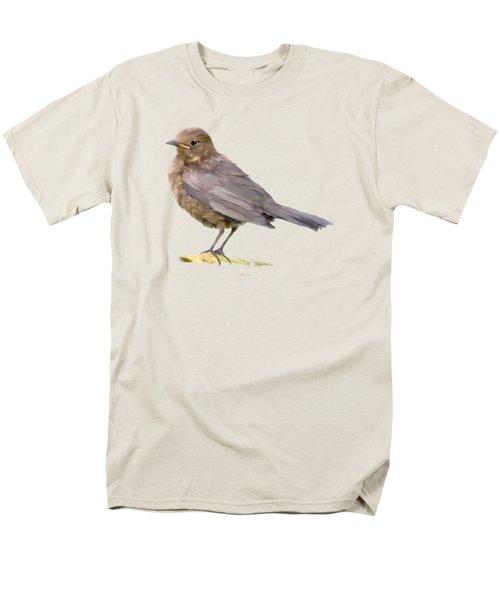 Young Blackbird  Men's T-Shirt  (Regular Fit)