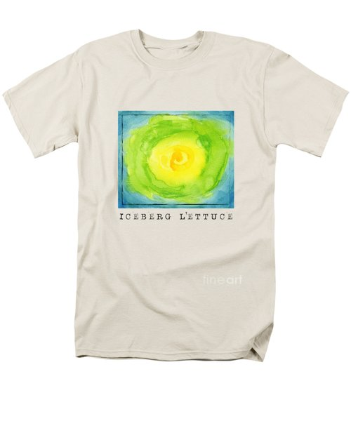 Abstract Iceberg Lettuce Men's T-Shirt  (Regular Fit) by Kathleen Wong
