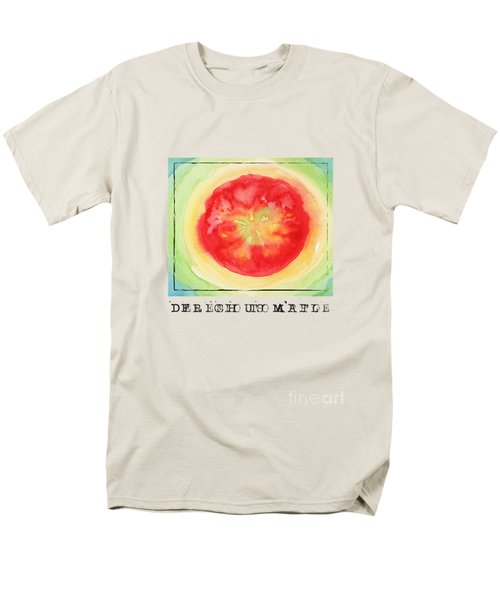 Fresh Tomato Men's T-Shirt  (Regular Fit) by Kathleen Wong