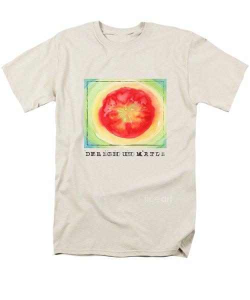 Fresh Tomato Men's T-Shirt  (Regular Fit)