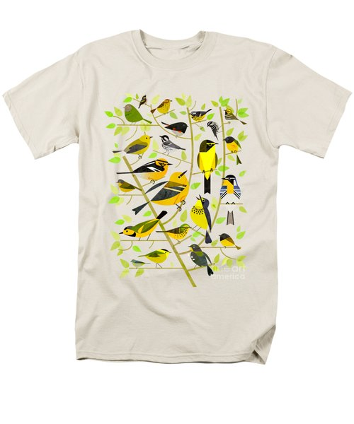 Warblers 1 Men's T-Shirt  (Regular Fit) by Scott Partridge