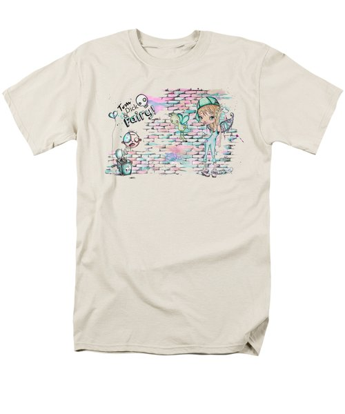 Tom Dick And Fairy Men's T-Shirt  (Regular Fit) by Lizzy Love