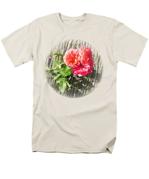 Floral Escape Men's T-Shirt  (Regular Fit) by Ivana Westin