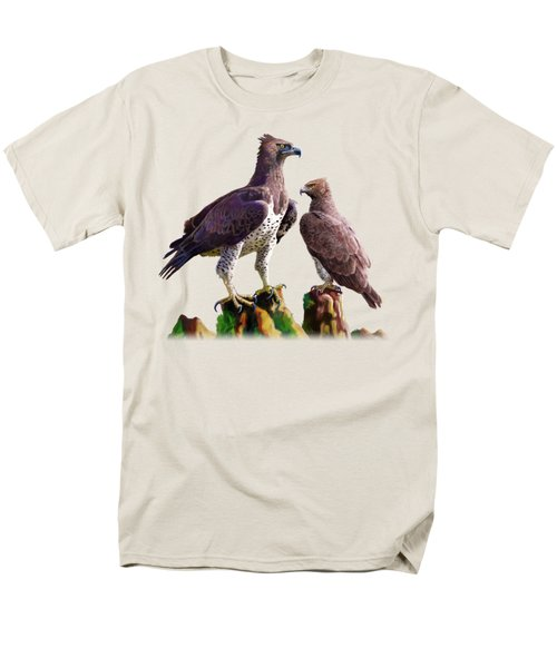 Martial Eagles Men's T-Shirt  (Regular Fit) by Anthony Mwangi