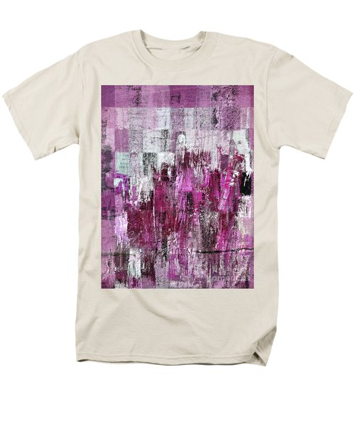 Men's T-Shirt  (Regular Fit) featuring the digital art Ascension - C03xt-165at2c by Variance Collections