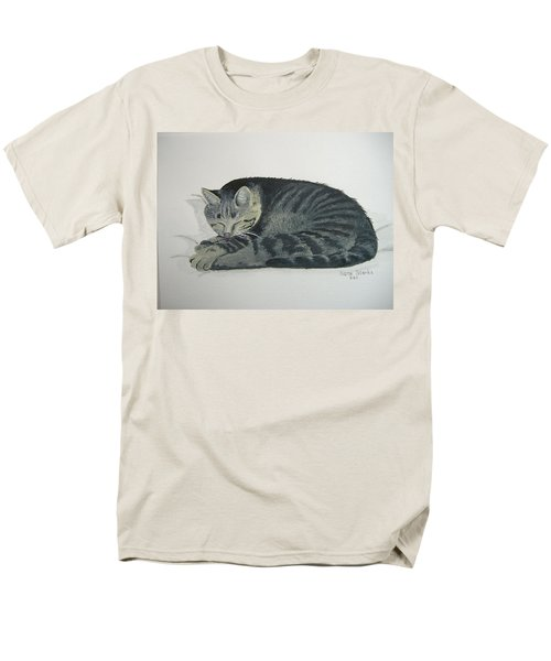 Men's T-Shirt  (Regular Fit) featuring the painting At Rest by Norm Starks