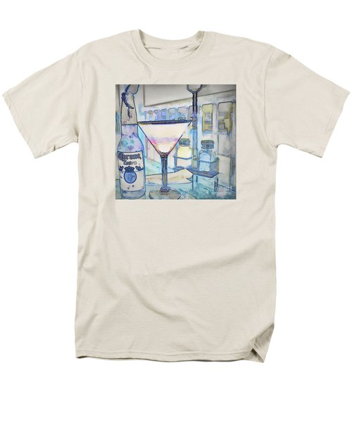 Men's T-Shirt  (Regular Fit) featuring the photograph At The End Of The Day by Pamela Blizzard