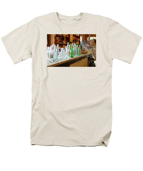 Men's T-Shirt  (Regular Fit) featuring the photograph At The Store by Steven Clipperton