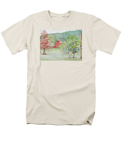 At The Winery Men's T-Shirt  (Regular Fit) by Christine Lathrop