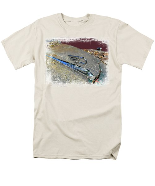 Men's T-Shirt  (Regular Fit) featuring the photograph Austin A40 Somerset Flying A by Nick Kloepping