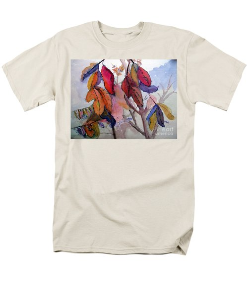 Autumn Leaves Men's T-Shirt  (Regular Fit) by Sandy McIntire