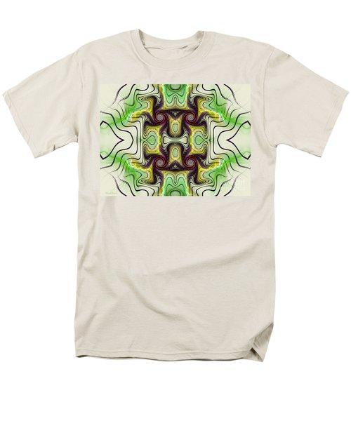 Aztec Art Design Men's T-Shirt  (Regular Fit) by Deborah Benoit