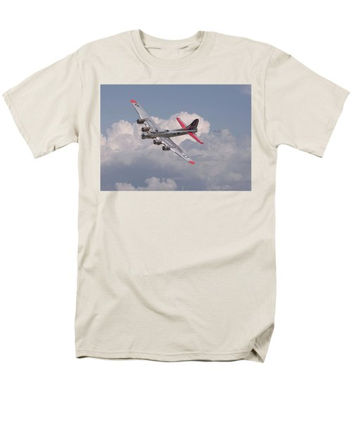 Men's T-Shirt  (Regular Fit) featuring the photograph B17 - The Last Lap by Pat Speirs