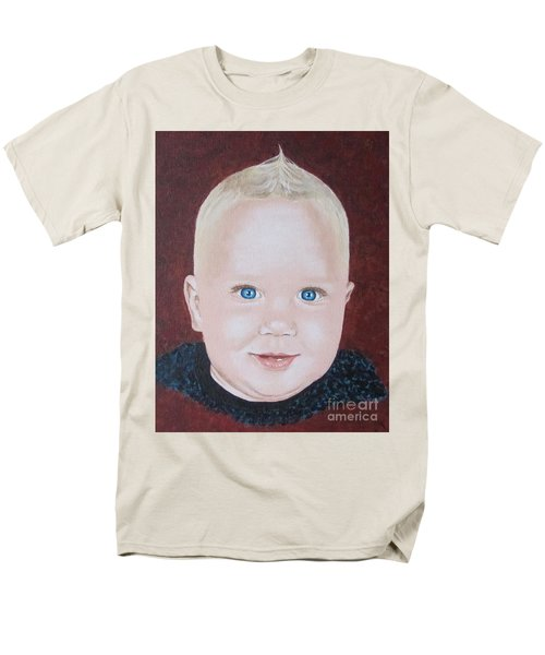 Men's T-Shirt  (Regular Fit) featuring the painting Baby by Jeepee Aero
