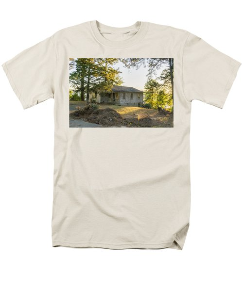 Back Porch Sunset Men's T-Shirt  (Regular Fit) by Ricky Dean