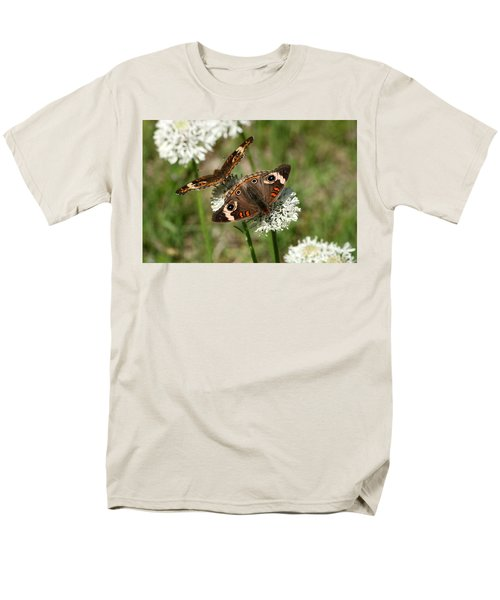 Back To Back Butterflies Men's T-Shirt  (Regular Fit) by Sheila Brown