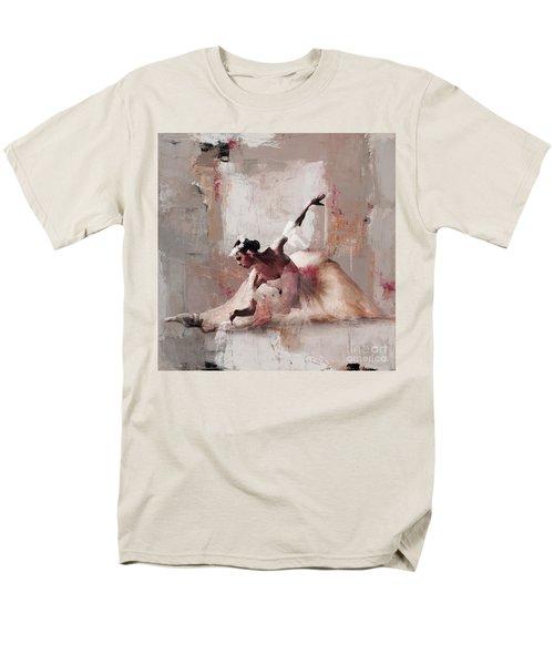 Ballerina Dance On The Floor 02 Men's T-Shirt  (Regular Fit) by Gull G