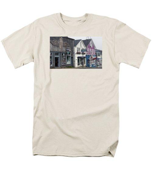 Men's T-Shirt  (Regular Fit) featuring the photograph Bar Harbor by Helen Haw