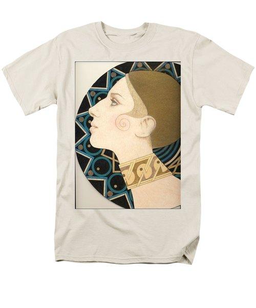Barbra Men's T-Shirt  (Regular Fit) by Richard Laeton