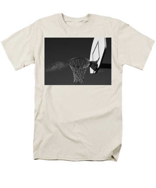 Men's T-Shirt  (Regular Fit) featuring the photograph Basketball Court by Richard Rizzo