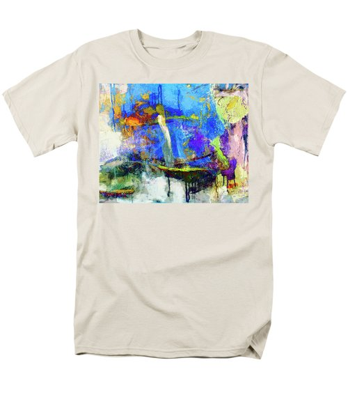 Men's T-Shirt  (Regular Fit) featuring the painting Bayou Teche by Dominic Piperata