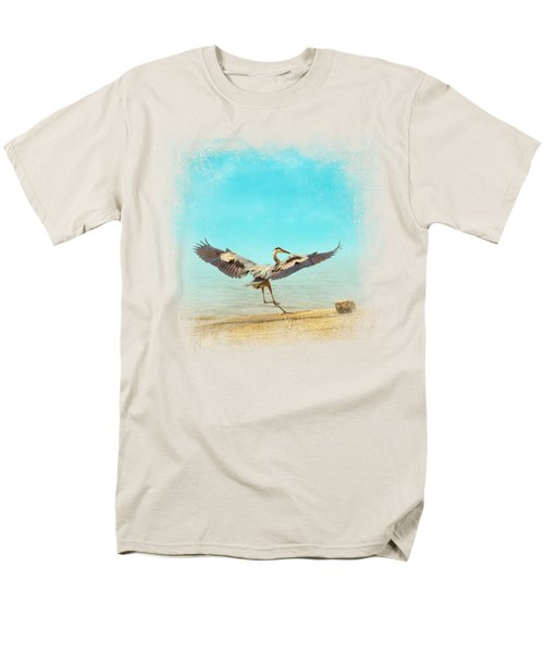 Beach Dancing Men's T-Shirt  (Regular Fit) by Jai Johnson