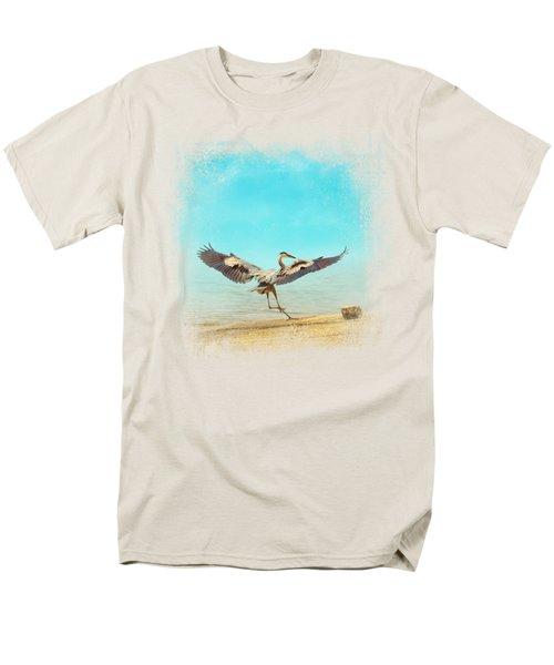 Beach Dancing Men's T-Shirt  (Regular Fit)