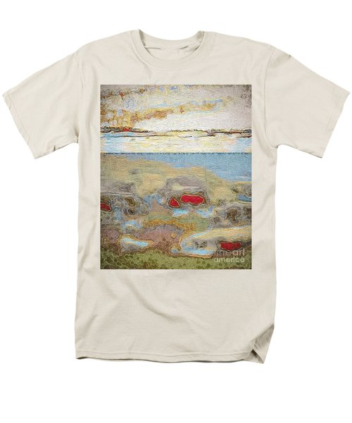 Men's T-Shirt  (Regular Fit) featuring the photograph Beach Dunes by William Wyckoff
