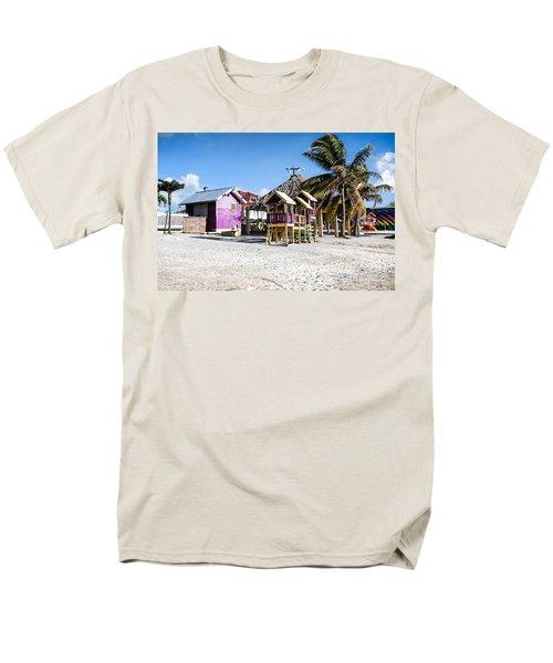 Beach Huts Men's T-Shirt  (Regular Fit)