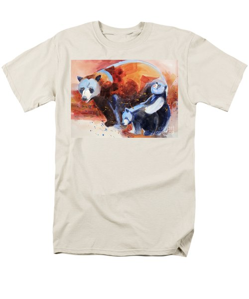Bear Family Outing Men's T-Shirt  (Regular Fit) by Kathy Braud