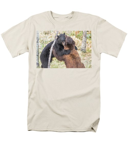 Bear Hug Men's T-Shirt  (Regular Fit) by Marc Crumpler
