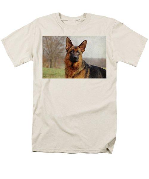 Men's T-Shirt  (Regular Fit) featuring the photograph Beautiful Raven by Sandy Keeton