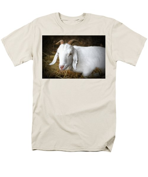 Men's T-Shirt  (Regular Fit) featuring the photograph Bedded Down by Marion Johnson