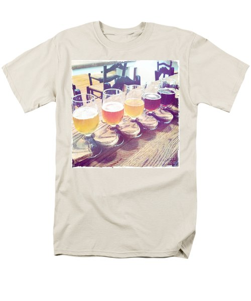 Men's T-Shirt  (Regular Fit) featuring the photograph Beer Flight by Nina Prommer