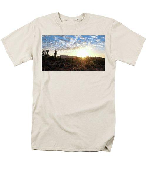 Beginning A New Day Men's T-Shirt  (Regular Fit) by Monte Stevens