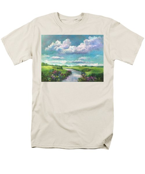 Beneath The Clouds Of Paradise Men's T-Shirt  (Regular Fit) by Randy Burns