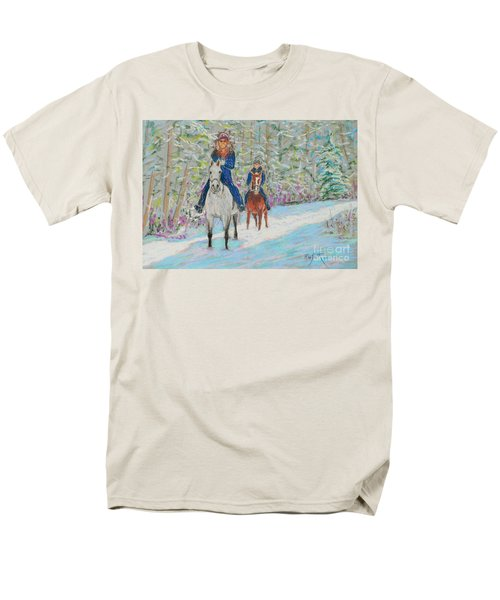 Beth And Nancy  Men's T-Shirt  (Regular Fit) by Rae  Smith  PAC