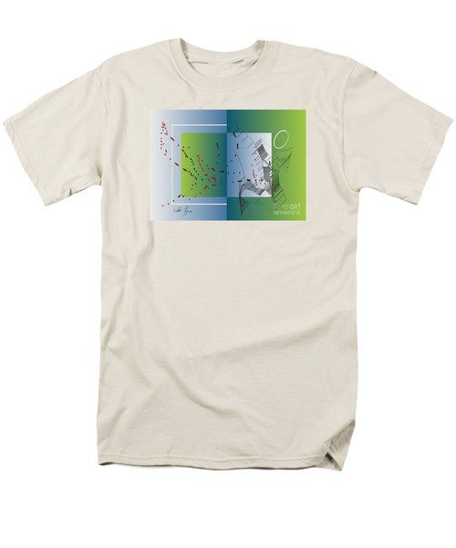 Men's T-Shirt  (Regular Fit) featuring the digital art Between Heaven And Me by Leo Symon