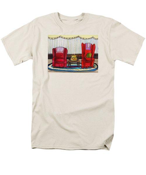 Between Two Reds Men's T-Shirt  (Regular Fit) by John Williams