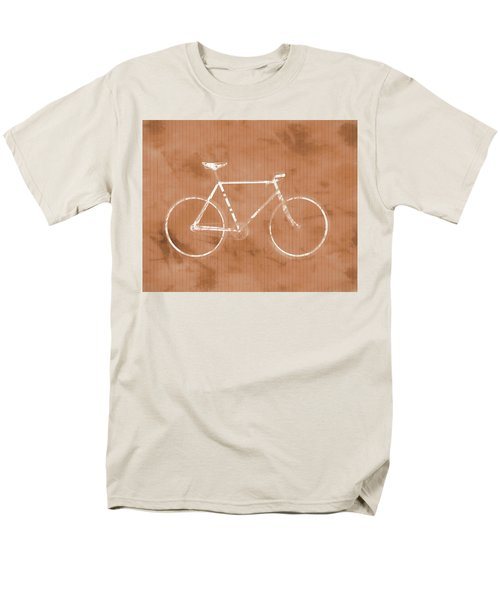 Bicycle On Tile Men's T-Shirt  (Regular Fit) by Dan Sproul