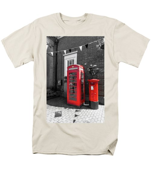 Men's T-Shirt  (Regular Fit) featuring the photograph Big Red Little Red by Scott Carruthers