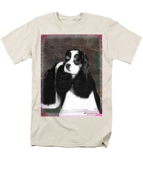 Men's T-Shirt  (Regular Fit) featuring the photograph Black And White Cookie by EricaMaxine  Price