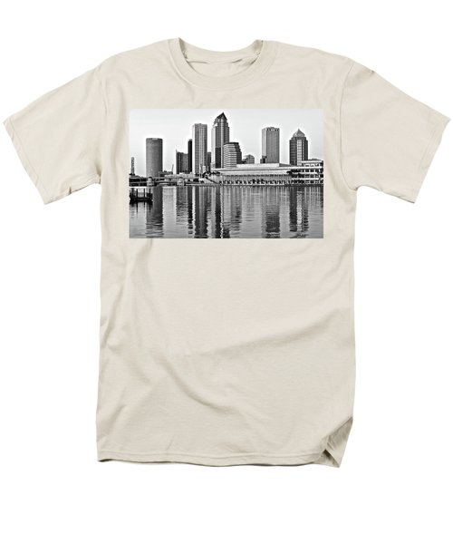 Black And White In The Heart Of Tampa Bay Men's T-Shirt  (Regular Fit) by Frozen in Time Fine Art Photography