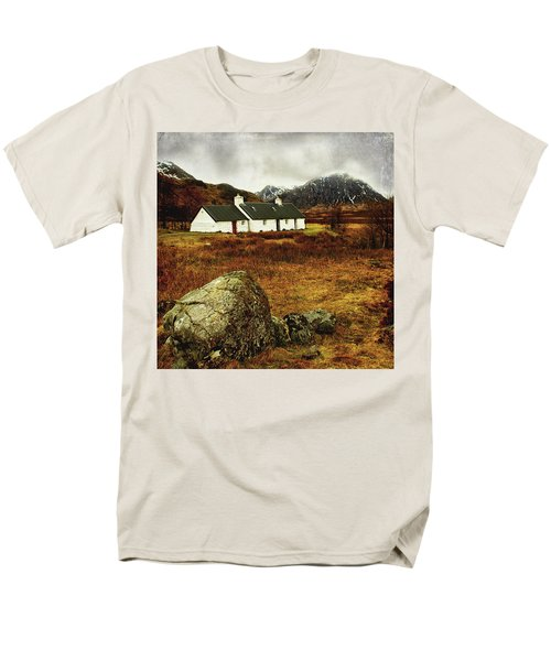 Blackrock Cottage Glencoe Men's T-Shirt  (Regular Fit) by Jacqi Elmslie