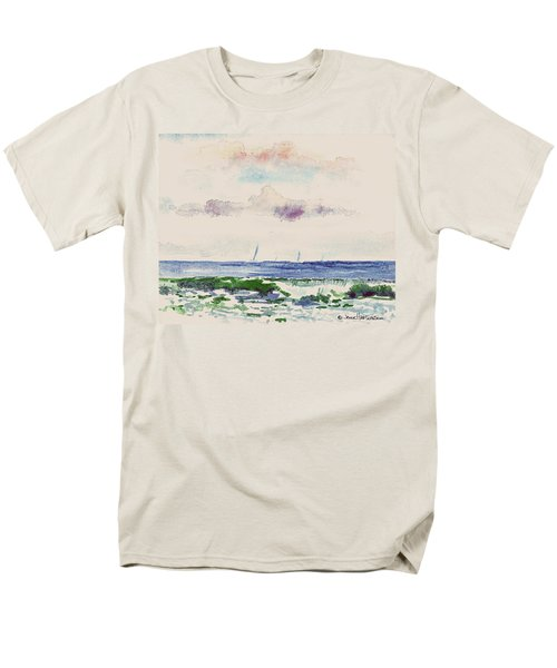 Block Island Sound Men's T-Shirt  (Regular Fit) by Joan Hartenstein