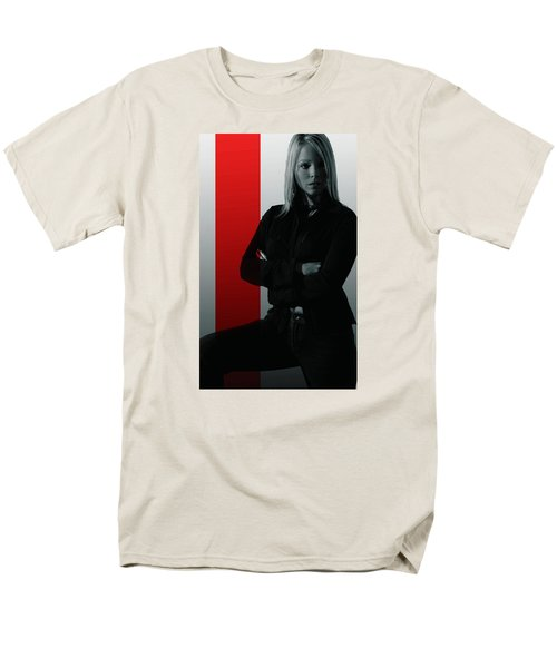 Men's T-Shirt  (Regular Fit) featuring the photograph Blonde With Attitude by Bob Pardue