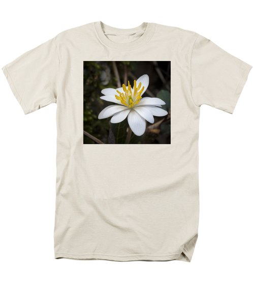 Men's T-Shirt  (Regular Fit) featuring the photograph Bloodroot by Tyson and Kathy Smith
