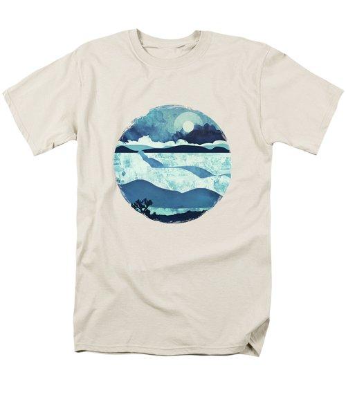 Blue Desert Men's T-Shirt  (Regular Fit) by Spacefrog Designs