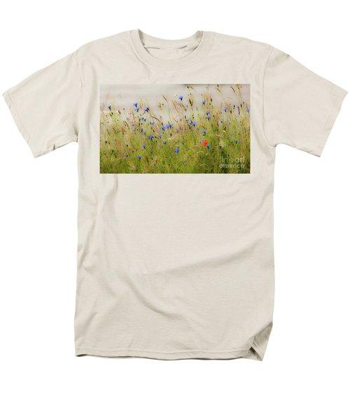 Blue Serenade Men's T-Shirt  (Regular Fit)